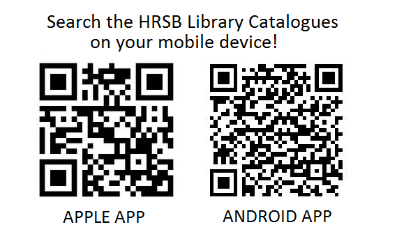 QR codes for the library catalogue app